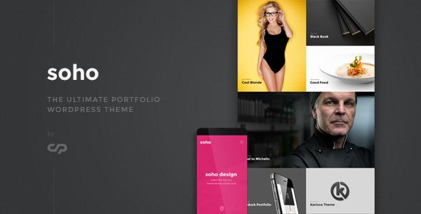 Soho – The Ultimate Portfolio WordPress Theme (Creative) Download