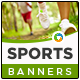 HTML5 Sports Banners - GWD - 7 Sizes