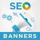 HTML5 SEO Banners - GWD - 7 Sizes