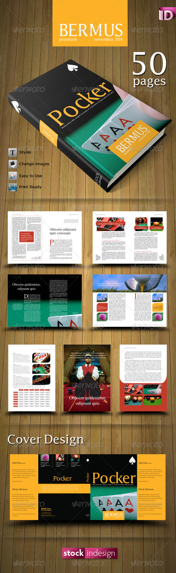 GraphicRiver PRO Book Template Bermus 1576287