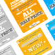 Simple & Modern Web Banners - GraphicRiver Item for Sale