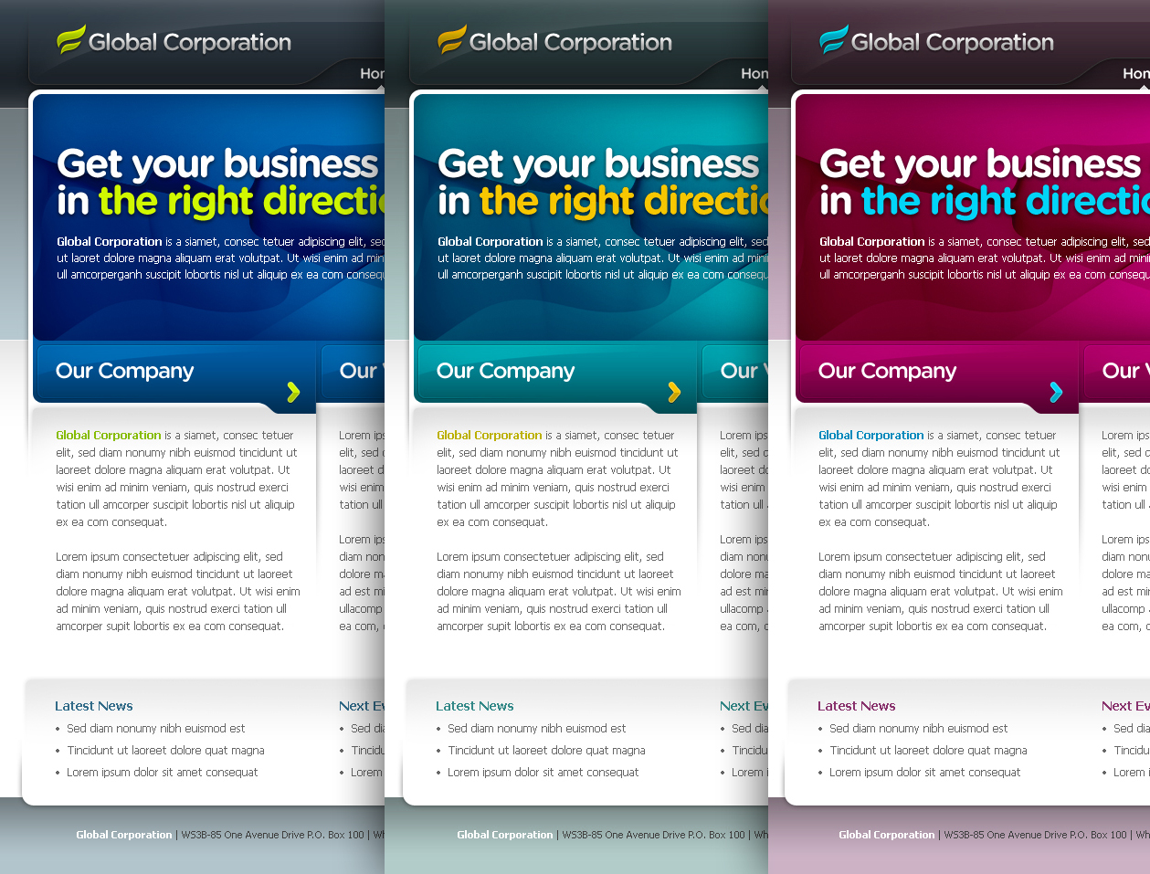 Business Template #07