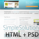 SimpleSolution - ThemeForest Item for Sale