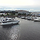 Luxery Yachts In The Harbour