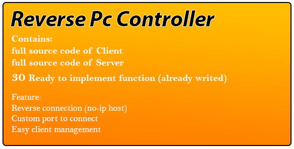 Reverse Pc Controller - CodeCanyon Item for Sale
