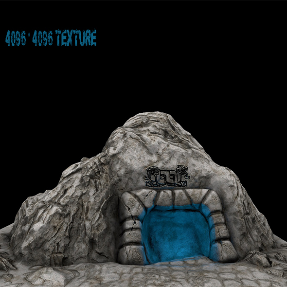 Cave_Enterance_ - 3DOcean Item for Sale