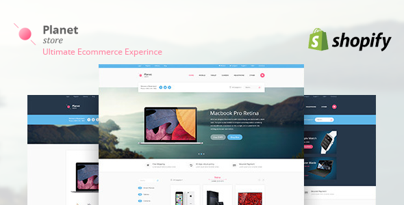 Image of Planet Tech Store - Ecommerce Shopify Theme