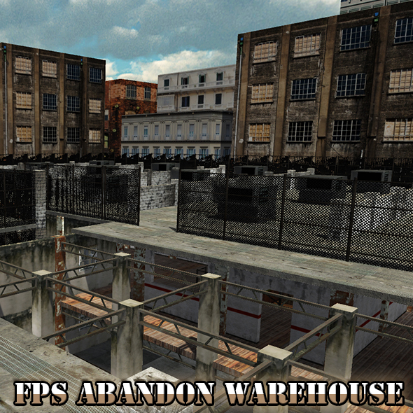 FPS Abandon Warehouse - 3DOcean Item for Sale