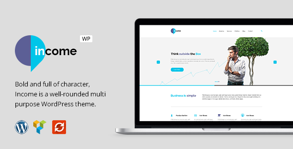 Download Income - Responsive Business WordPress Theme nulled download