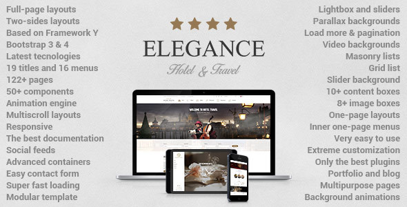 Elegance - Hotel | Apartment | Travel Template