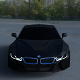 BMW i8 Black HDRI