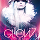 Glow Party All Night Flyer