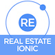 Real Estate Ionic - Full Application with Firebase backend
