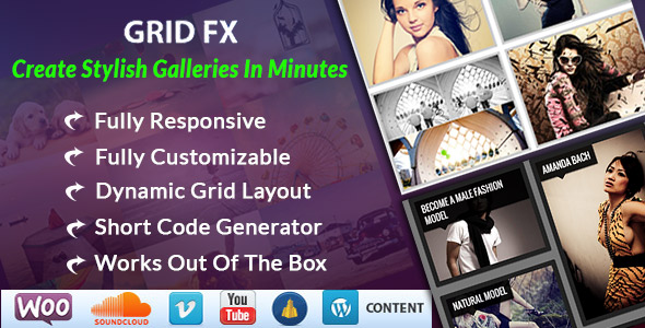 Grid FX - Ultimate Grid Plugin for WordPress