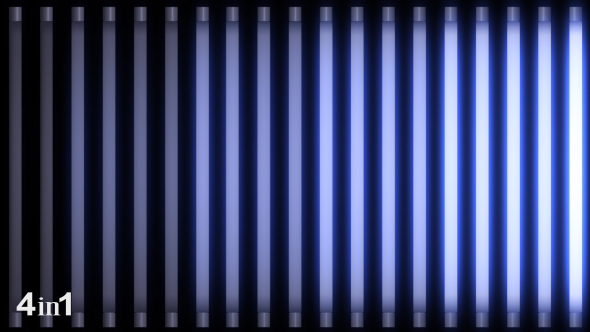 VideoHive Neon Light Flashing 4-Pack 15776588