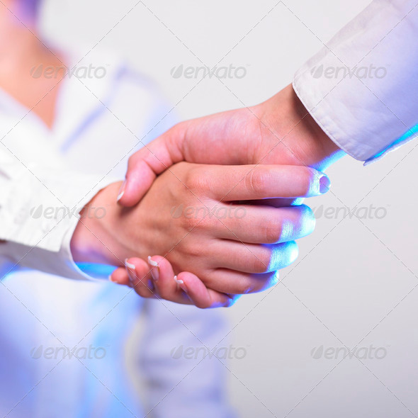 Handshake Handshaking - Stock Photo - Images
