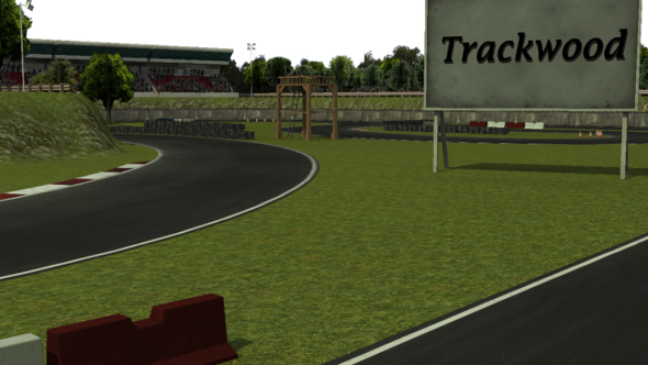 Trackwood drift race track - 3DOcean Item for Sale