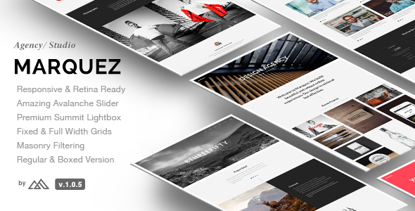 8. Marquez - A Creative Agency HTML Template