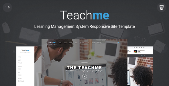 Teachme | Responsive Learning Management System, Education, University Site Template