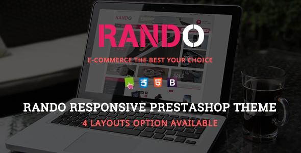 Rando - Responsive Prestashop Theme
