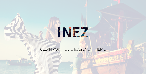 25 - Inez - Clean Portfolio & Agency Theme