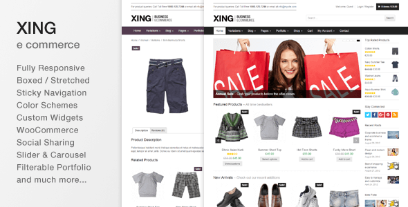 Download Xing - Business / ecommerce WordPress Theme nulled download