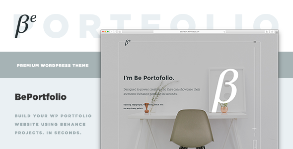 Download BePortfolio - Behance Projects WordPress Theme nulled download