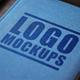 Perspective Logo Mockups Vol. 2