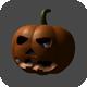 Halloween Pumpkin for Game