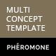 Pheromone - Responsive Multi-Concept Template