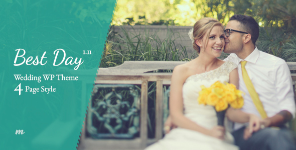 17 - Best Day - Responsive One-Page Wedding Theme