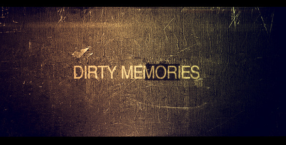 VideoHive Dirty memories 1579474