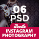 Fashion Instagram Banners Ads - 06 PSD