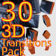 30 3D Transitions Pack