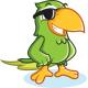 Parrot Mascot Set