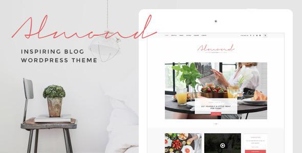 Download Almond - Inspiring Blog WordPress Theme nulled download