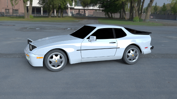 Porsche 944 S2 HDRI - 3DOcean Item for Sale