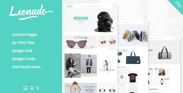 Leonado - Multipurpose eCommerce PSD Template