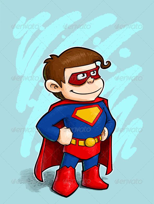 GraphicRiver Little Superhero 1580529