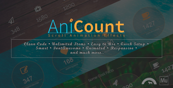 Download AniCount - Counter Animation Effects