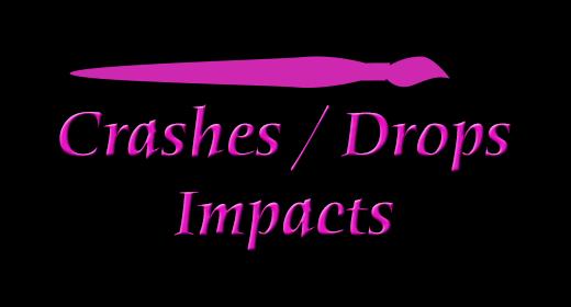 Crashes Drops Impacts