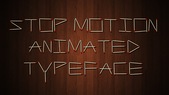Stop Motion Typeface II - 1