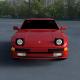 Porsche 944 new HDRI