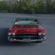 1959 Cadillac Eldorado Biarritz HDRI 3D Model