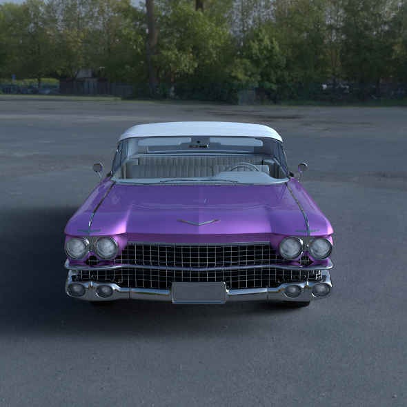 1959 Cadillac Eldorado Biarritz Top HDRI - 3DOcean Item for Sale
