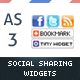 AS3 Social Networks Auto-Link Page Share Widget  - ActiveDen Item for Sale