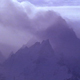 Mountain Tops in Blowing Cloud - VideoHive Item for Sale