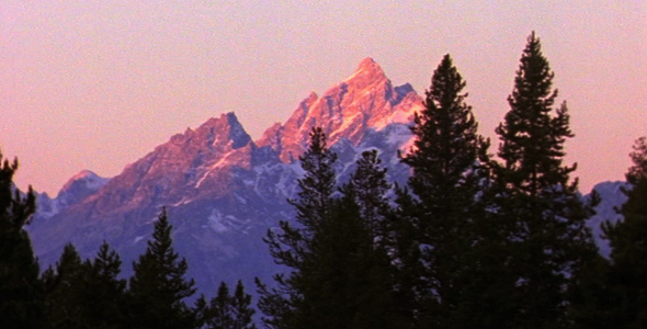 Sunrise on Grand Teton 2