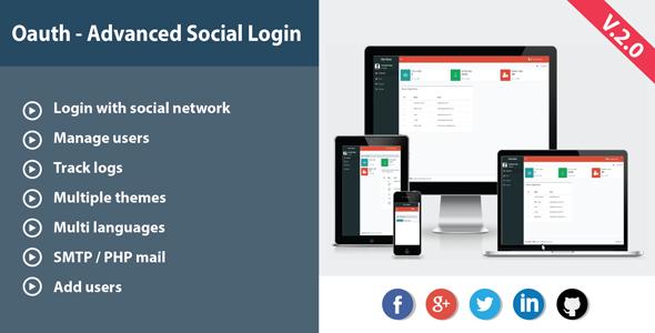 Oauth - Advanced Social Login