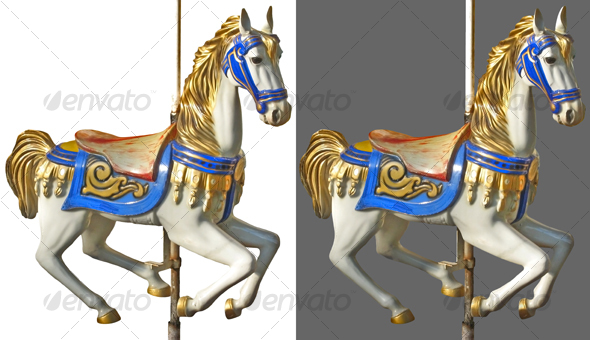 GraphicRiver Carousel horse 43428